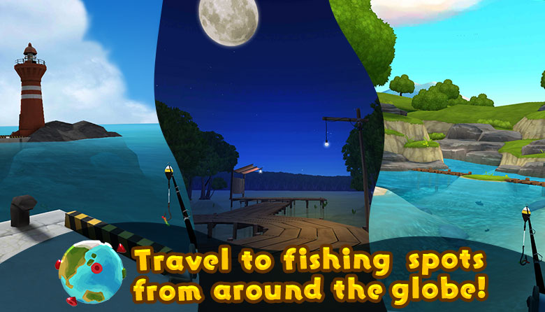 Travel to fishing spots from around the globe!