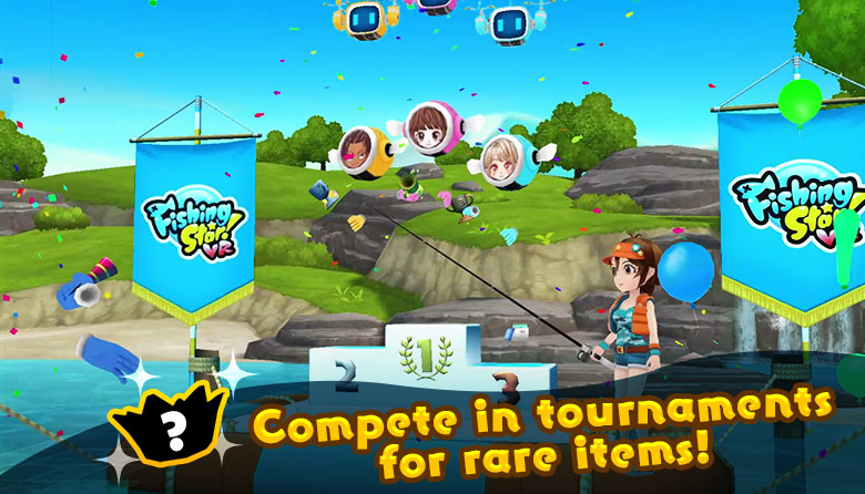 Compete in tournaments for rare items!