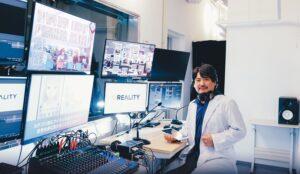 GREE VR Studio Lab, Director Akihiko SHIRAI, Ph.D